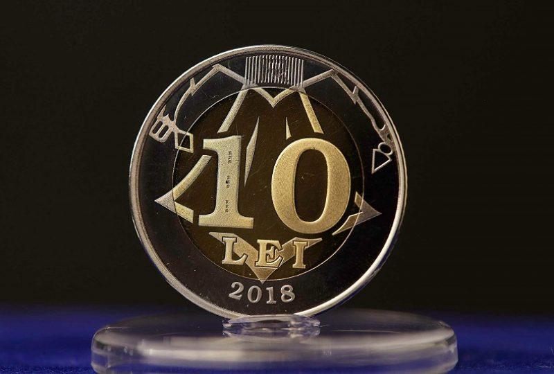 10. moneda 10 lei