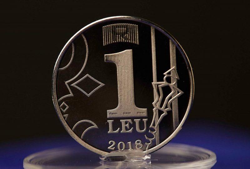 4. moneda 1 leu