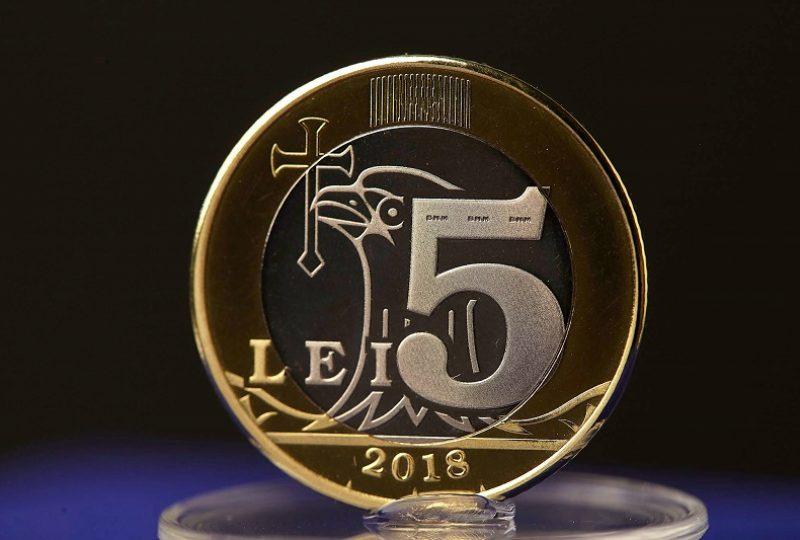 8. moneda 5 lei