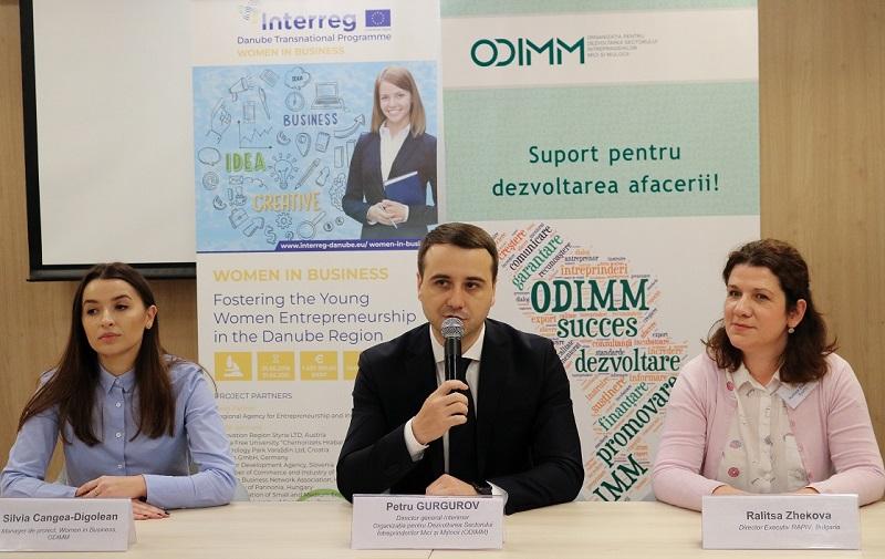 ODIMM: Ne propunem să încurajăm femeile să lanseze și să dezvolte cu succes propria afacere!